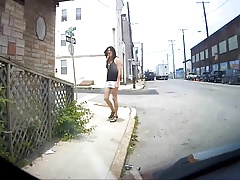 Slut on the Street