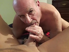 Sucking michaels cock and balls