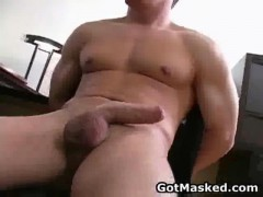 Hunky Homosexual Dude Getting naked And besides Jerking