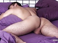 Big Dick Latino Sebastian Beats Off