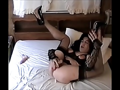 Carol C. Your Legs Up Slut Jerks Off