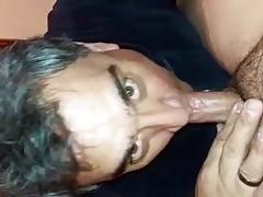 Grandpa likes teddy's dick