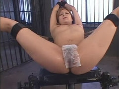 Incredible Japanese girl Kana Kawai in Crazy Creampie, Close-up JAV clip