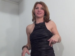 Dutch hot housewife playing with herself