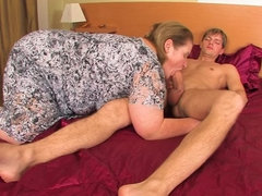 Big Amelia loves sucking and fucking hard