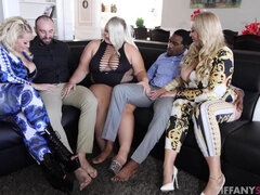 Tiffany Star hot group sex video
