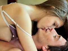 Home video with a wonderful sweet Russian beauty
