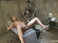Jessie Cox  Robot fucking and Sybian treatment