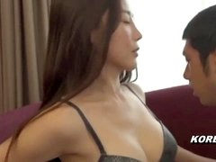 Korean porno sexy Golf Instructor red-hot