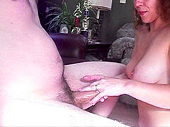 big-titted wifey handjob compilation