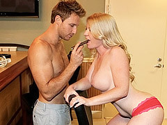 Levi's Flesh Cigar For Smoking MILF Shawnie