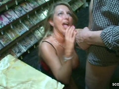 German Milf Copulate with two Strangers