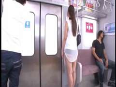 Huge Asian Rock Hard-On Uncensored Train Ride