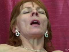 Ivet may be sixty but she can still fuck and swallow a thick dick