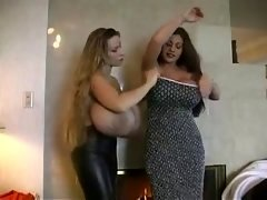 Classic Hugetitted Cougars Girl/girl Playtime