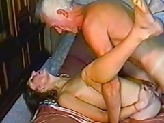 Grandpa gets himself some vernal young-looking pussy to make love