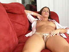 Kobe Lee micro thong inserting