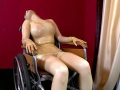 Mystery Clinic Wild Latex Sex Scene With Fucking Machine