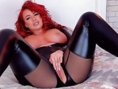 Hot sexy redhead web camera MILF