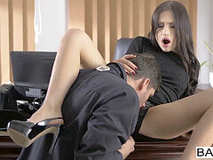 Office Obsession - quite The Package starring Kristof Cale