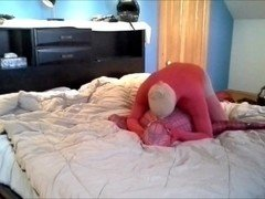 red morph pantyhosed cock vs spiderman