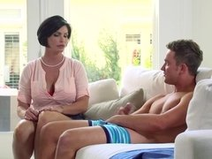 Super sexy milf fucked her friend's son