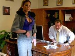 Melons Latina MILF Hunter Bryce Gets Lascivious in the Office