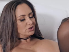 Voluptuous milf gives her all in this sex scene