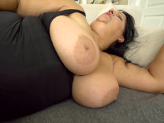 BBW milf gives the younger man access to her slutty cunt