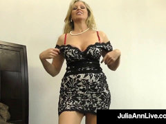 hefty Boobed Cougar Julia Ann Takes A Load Of jizz In Her mouth