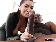 Karlee Grey gets pounded by huge black dick
