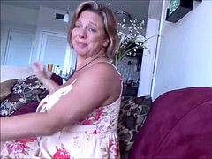Brianna Beach - Free spirited mom flashes Son How to Relax