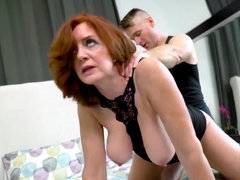 Special Arrangement with Redhead Mom