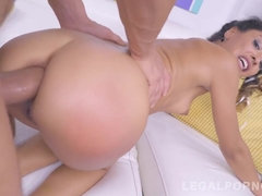 Puny Teenager Mega-Bitch Booty Nailed Rock Hard