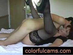 My aunt showed me heaven - colorfulcams.com