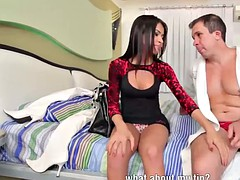 Latina transsexual prostitute fucked doggystyle