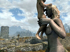 Skyrim SE Cbpc and Monster nymph