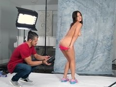 Young Asian model gets sodomized by her photographer