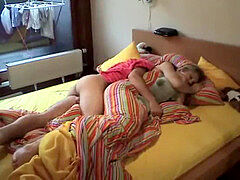 xneosex.com - fledgling duo shag at Home