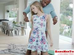 Rachel James Anal Teen fucked and destgroyed by black big cock