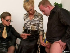 Mistress Gina Demands a Show