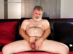 Daddy Bear Unloads in a Sauna