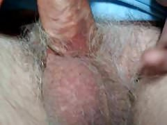 Taking Care of Uncut Grandpa Cock