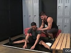 Handsome Guys Enjoy Some Anal At The Gym