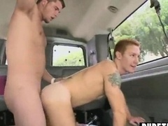 male-female lad tries anal