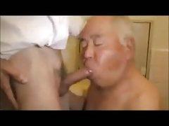 Black gay cock sucked off