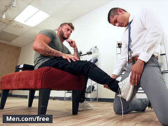 Mencom - From sole fumble to deep assfuck - Rocky Vallarta, William Seed