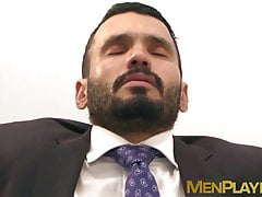 Businessman Jean Franko sucked off before hardcore pounding