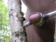 Good masturbation in forest 2