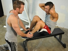 Devin Draz banged by Spencer Drake at the gym